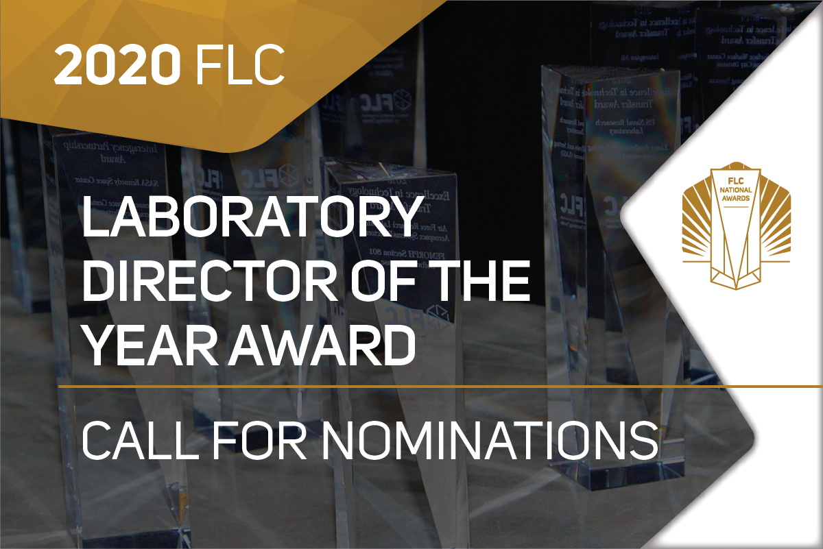 2020 FLC Laboratory Director of the Year Award Nominations