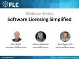 Software Licensing Simplified