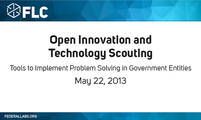 Open Innovation and Technology Scouting