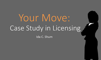 Your Move: Case Study in Licensing