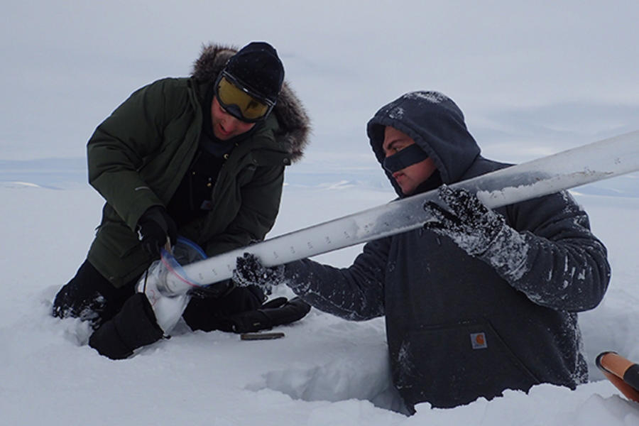 Scientists with the Next Generation Ecosystem Experiments-Arctic project