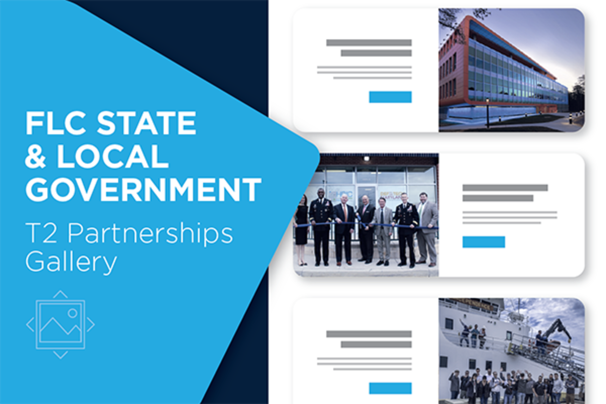 State and Local Government T2 Partnerships Gallery News Image