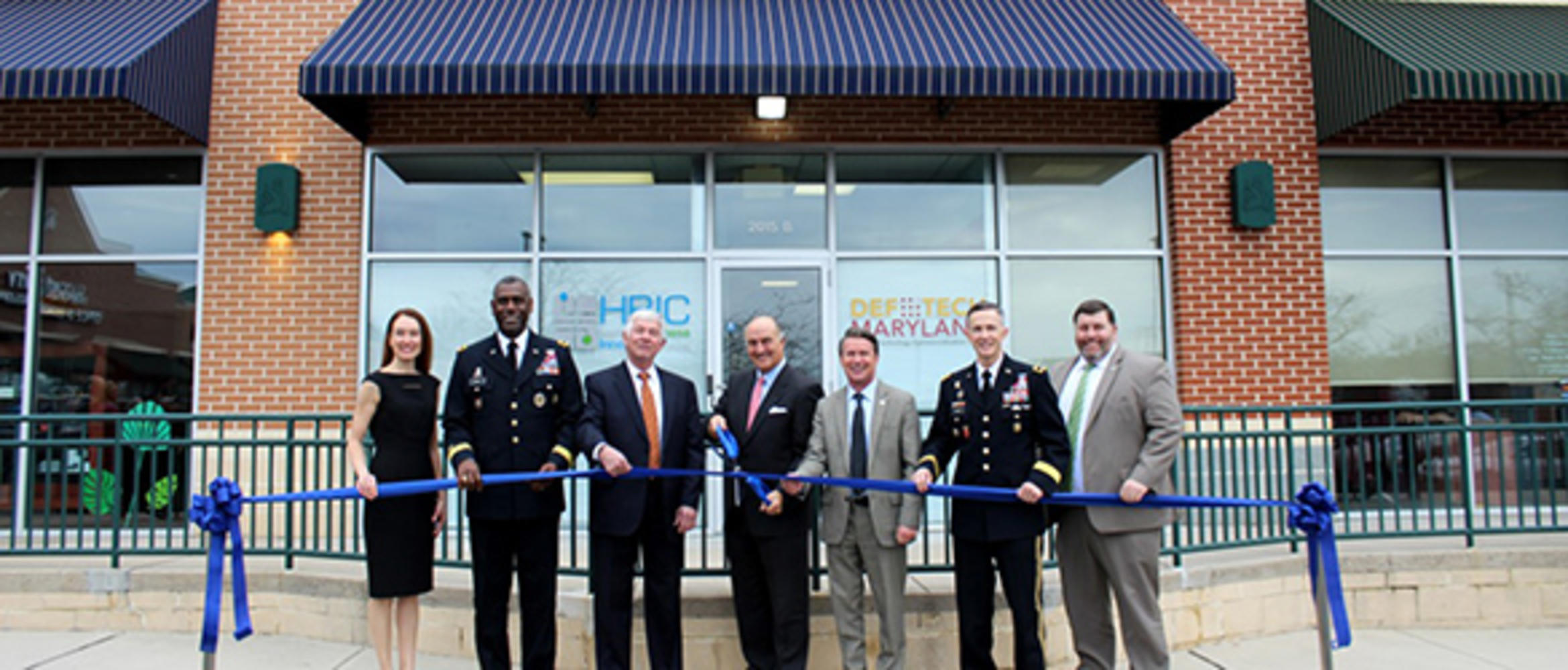 DefTech Center ribbon-cutting ceremony